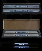 Indstigningsliste m/led lys
